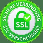 Sichere Verbindung, SSL-Verschlüsselt